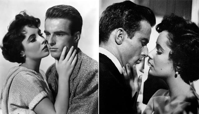 Elizabeth Taylor yêu  Montgomery Clift ngay từ lần đầu gặp gỡ.