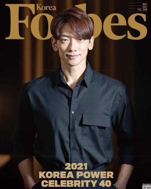 Rain trên Forbes số mới.