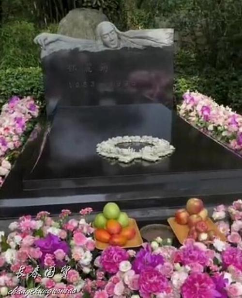 Hoa trên bia mộ, kỷ niệm 26 năm ngày mất Đặng Lệ Quân.