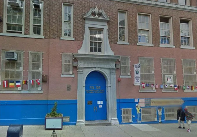 Trường Trung học Columbia của Thành phố New York, Mỹ. Ảnh: NYP.