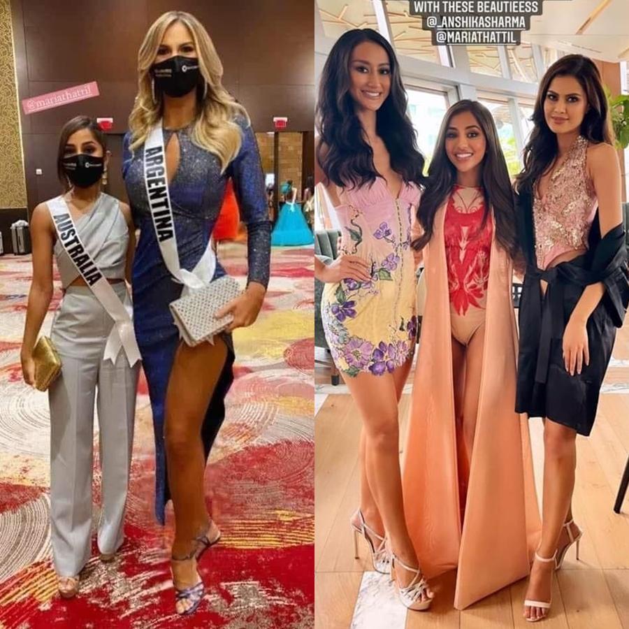 Những thí sinh nấm lùn ở Miss Universe 2020 - 1