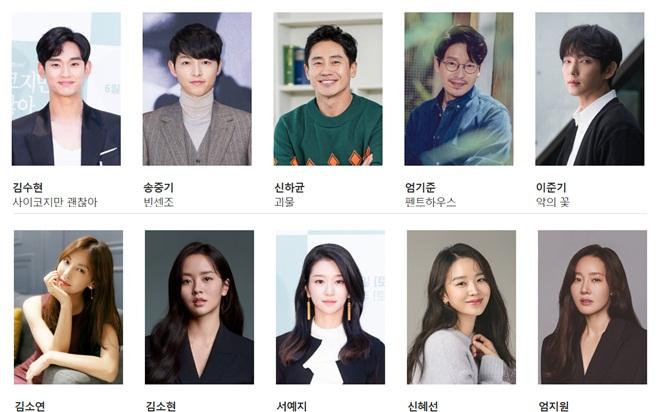 Lễ trao giải Baeksang sẽ diễn ra vào 13/5 tại Hàn Quốc.