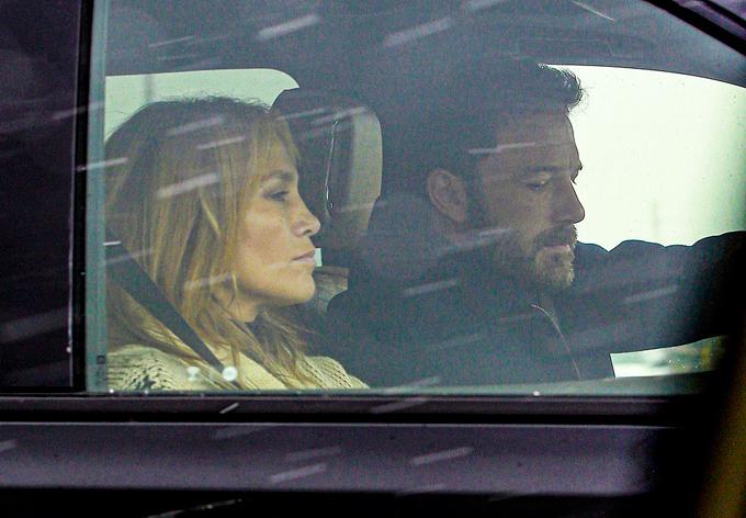 Jennifer Lopez và Ben Affleck ở Montana.