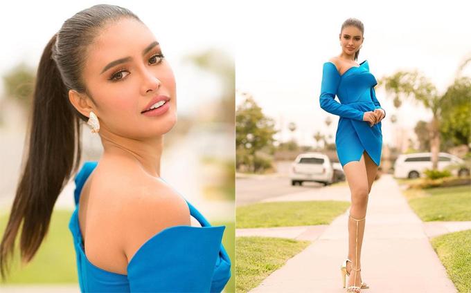 Nhan sắc xinh đẹp của đại diện Philippines.
