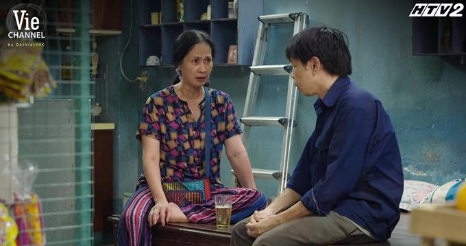 NSND Lan Hương diễn ra chất bà hàng xóm nhiều chuyện nhưng tình cảm.