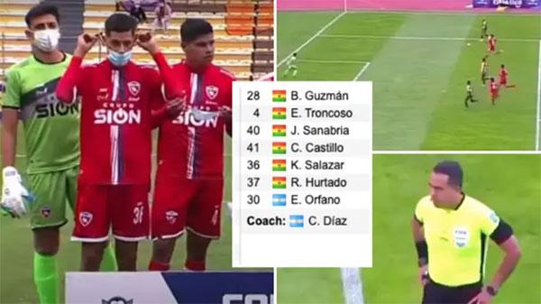 Royal Pari FC chỉ có 7 cầu thủ ra sân trong trận đấu hôm 9/5. Ảnh: SB.