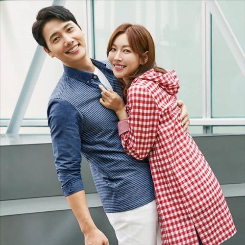 Kim So Yeon và ông xã Lee Sang Woo ngoài đời.