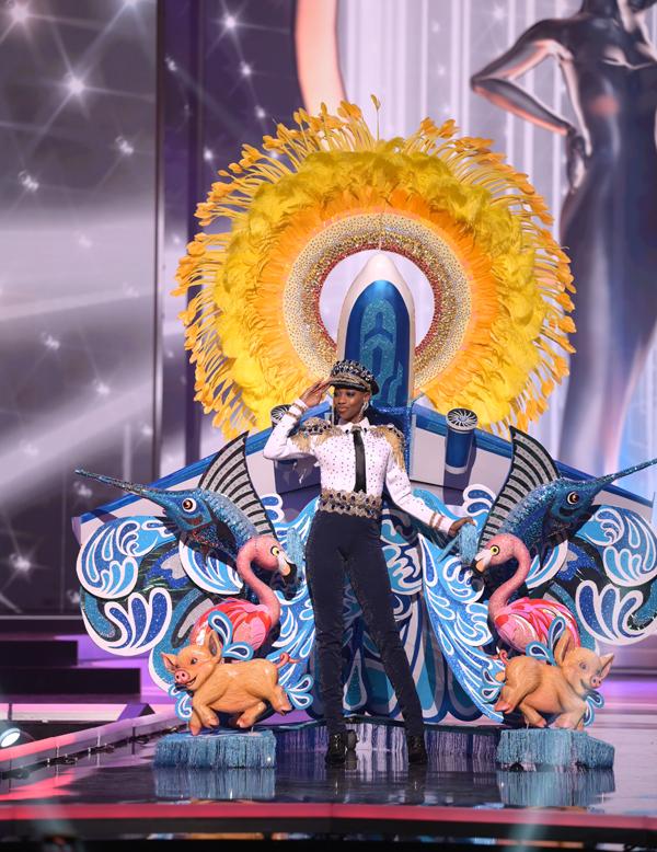 Hoa hậu Bahamas, Shauntae Miller.
