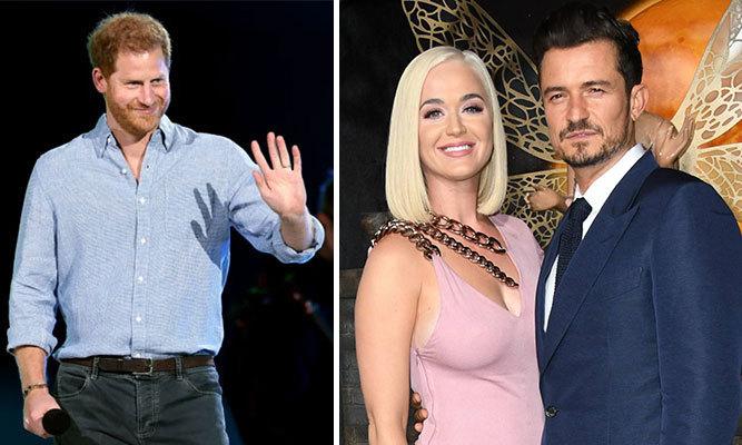 Harry khoe Orlando Bloom và Katy Perry là hàng xóm thân thiết