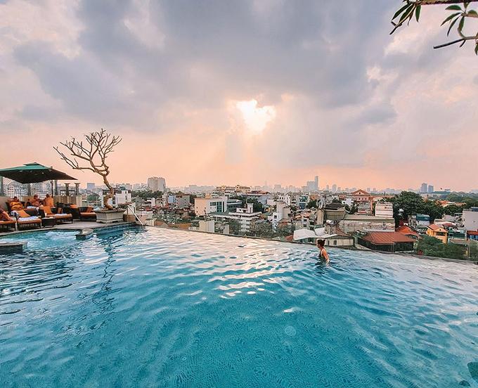 Bốn khách sạn có tầng thượng đẹp nhất thế giới ở Hà Nội - 2