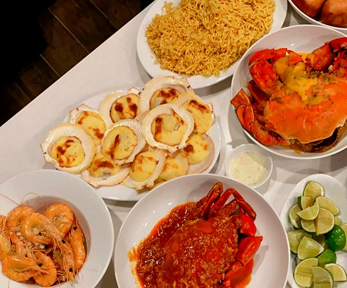 Tiệc sinh nhật Phillip Nguyễn ngập hải sản nhà hàng Hà Tăng - 3