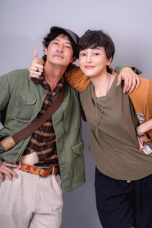 Huy Khánh và Cao Thái Hà có nhiều cảnh bi hài.