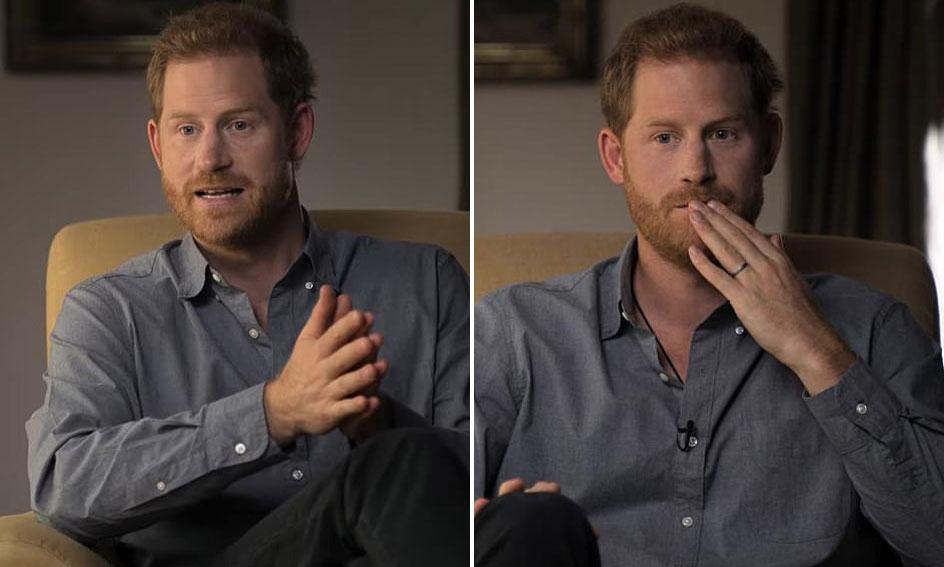 Harry chia sẻ cảm xúc thật của bản thân trong phim tài liệu của chính mình. Ảnh: Apple TV.