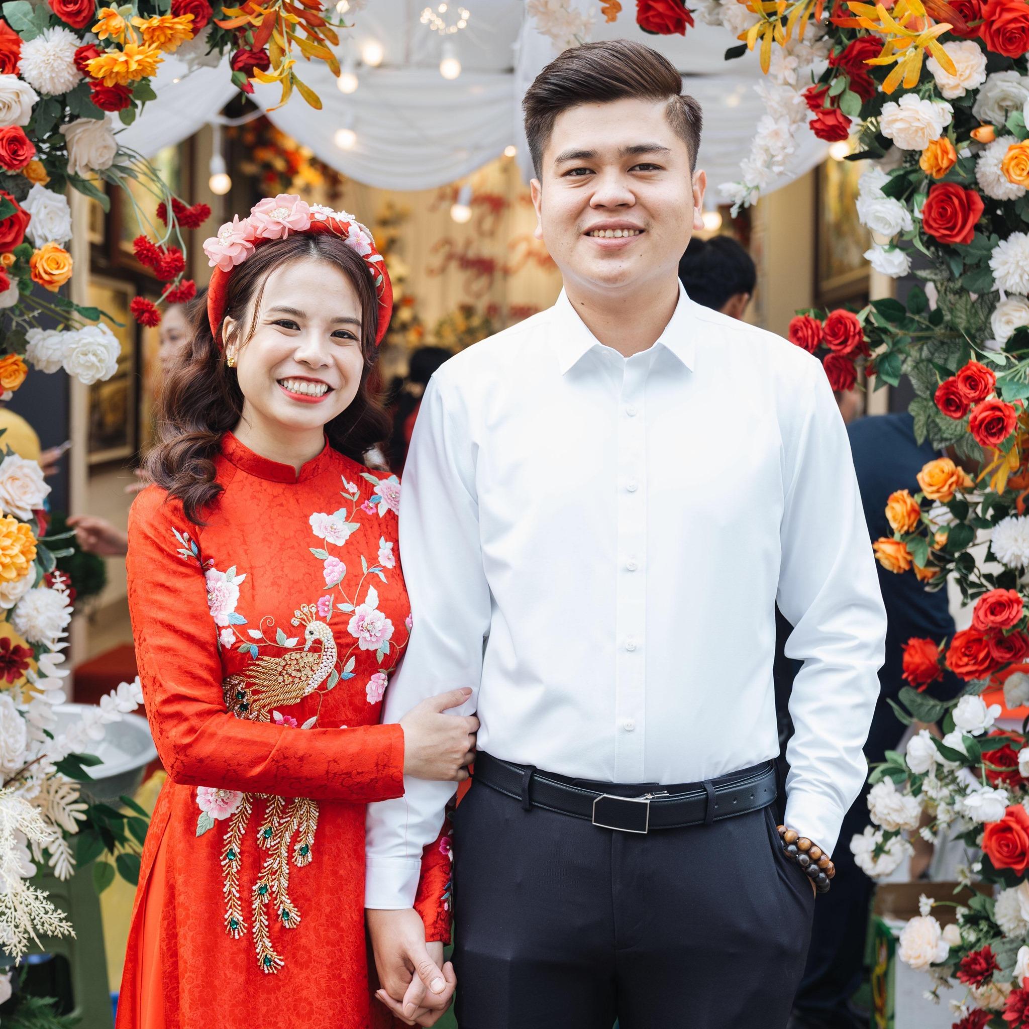 Phương Linh và Hoàng Hải trở thành vợ chồng sau khi gặp nhau tại khu cách ly.