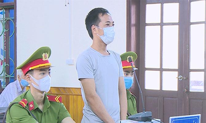 Bị cáo Tuấn Anh tại tòa. Ảnh: Thùy Dương