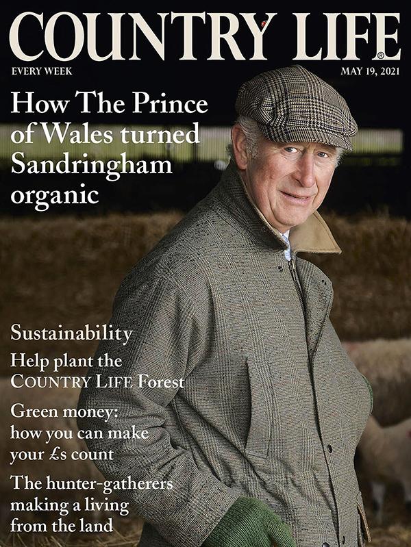 Thái tử Charles trên bìa tạp chí Country Life.