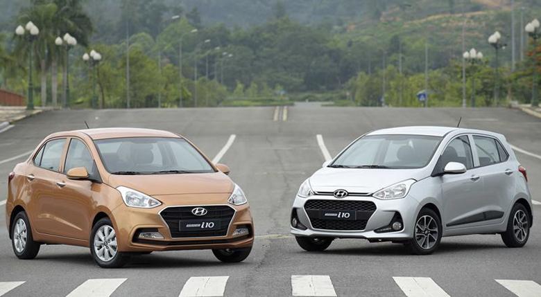Hyundai Grand i10 tại Hà Nội.