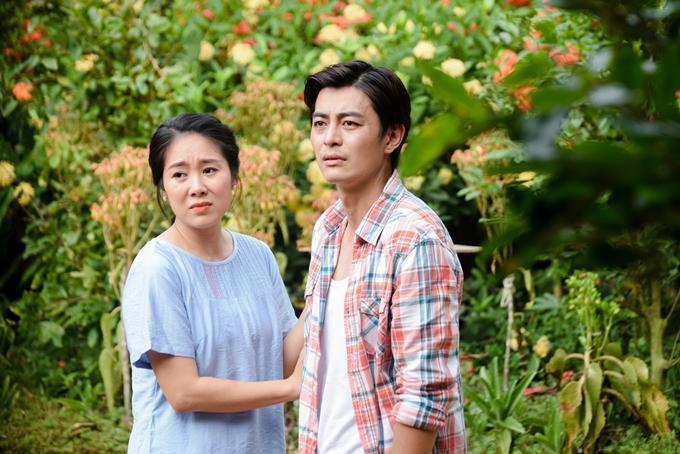 Lê Phương và Quốc Huy đóng vai hai chị em bị thất lạc.