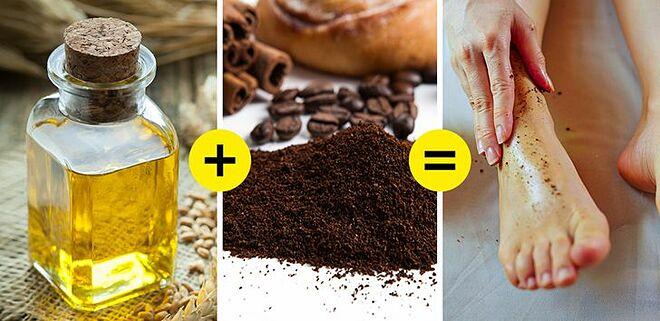 5 công thức làm đẹp từ đầu đến chân với cà phê - 5