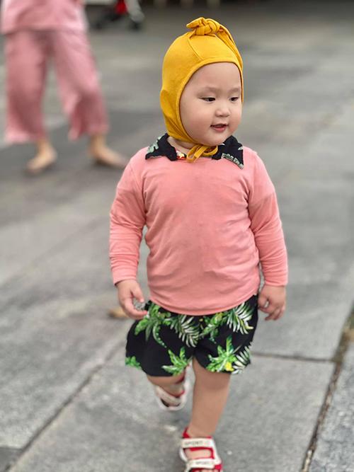 Nhóc tỳ sao Việt diện trang phục cute - 1