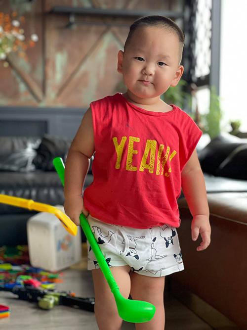 Nhóc tỳ sao Việt diện trang phục cute - 3