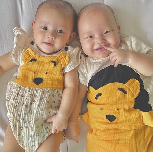 Nhóc tỳ sao Việt diện trang phục cute - 5