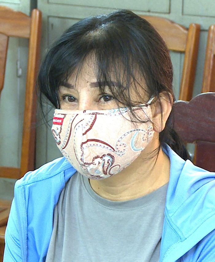 Nghi can Hoàng Thị Hạnh bị bắt giữ.