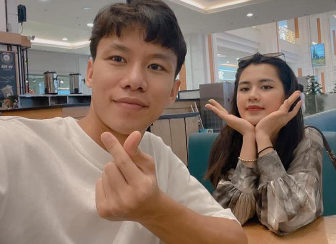 Quế Ngọc Hải đăng ảnh kỷ niệm 6 năm yêu nhau với bà xã Dương Thuỳ Phương.