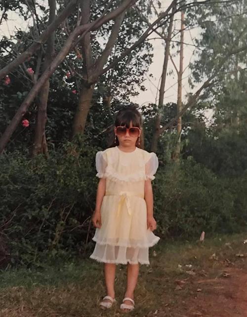 Sao Việt đỏm dáng từ bé