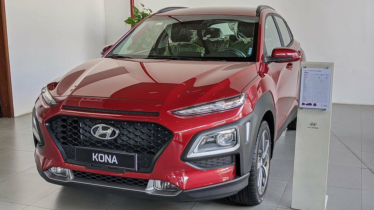 Hyundai Kona tại Hà Nội.