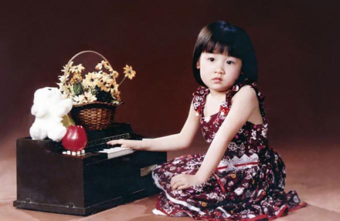 Sao Việt đỏm dáng từ bé - 6