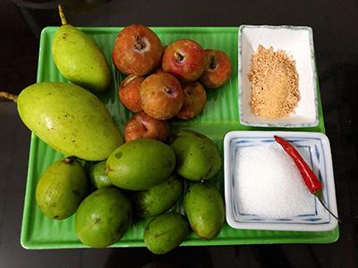 Trái cây trộn muối ớt - 1