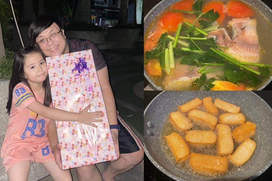 Là một người đàn ông hiếm khi vào bếp, nghệ sĩ Gia Bảo quyết định tự nấu nướng giúp tiết kiệm chi phí do không có thu nhập đầu vào suốt một tháng qua.