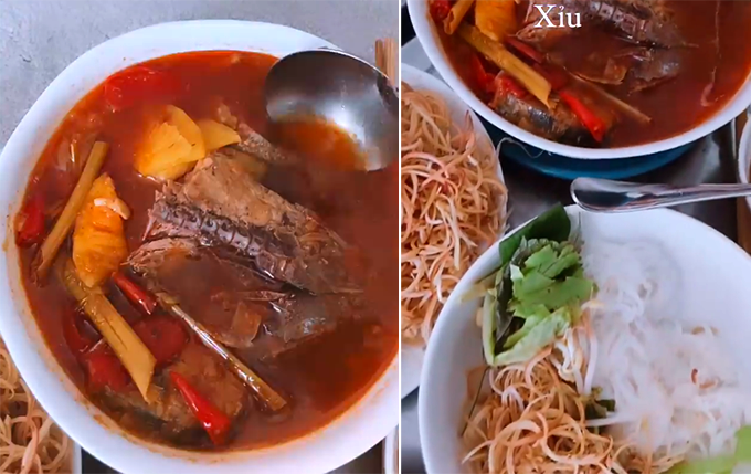 Hà Hồ xỉu vì món bún cá ngừ Quảng Bình của Lê Thuý - 1