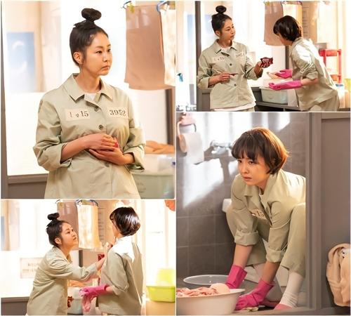 Hai bà mẹ ồn ào Kang Ma Ri và Go Sang Ah.