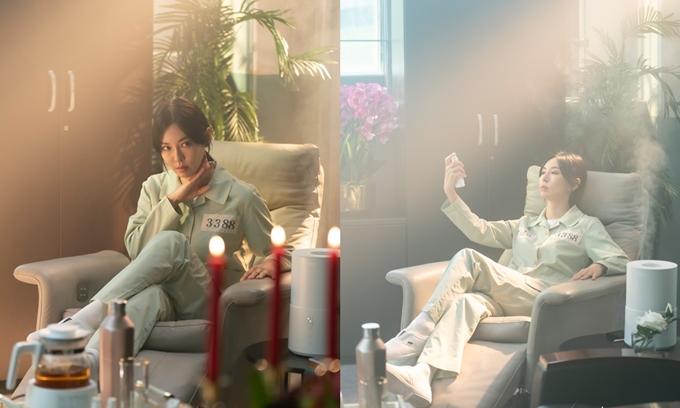 Cheon Seo Jin sống sang chảnh trong tù.