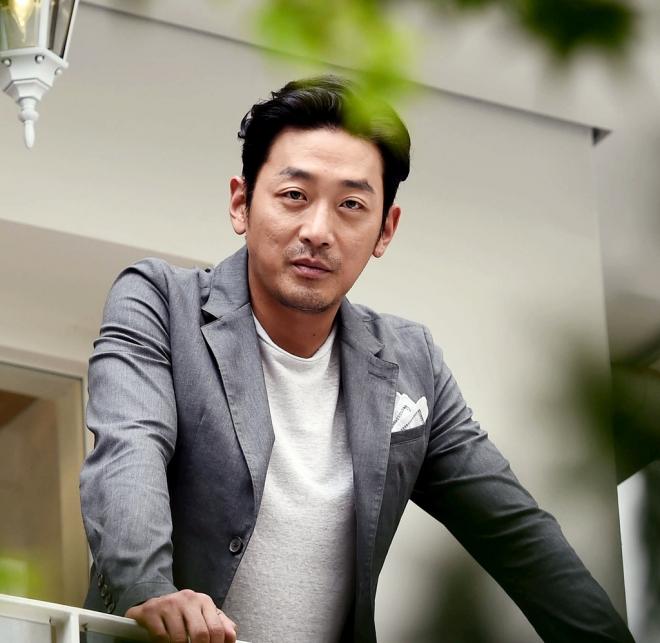 Tài tử Ha Jung Woo.
