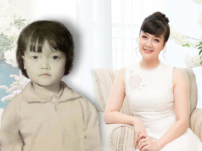 Nghệ sĩ hài Vân Dung đăng ảnh thời nhỏ và hỏi fan: Thế này đã dậy thì thành công chưa cả nhà?.