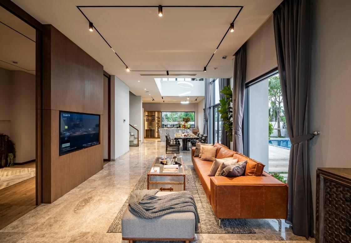 NTK Linh San chọn căn biệt thự song lập tại đô thị đảo Phượng Hoàng, Aqua City làm chốn an cư tương lai cho gia đình