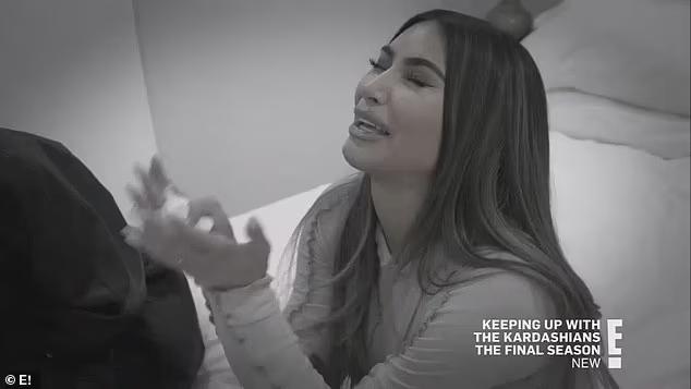 Kim khóc nức nở kể về hôn nhân đổ vỡ.