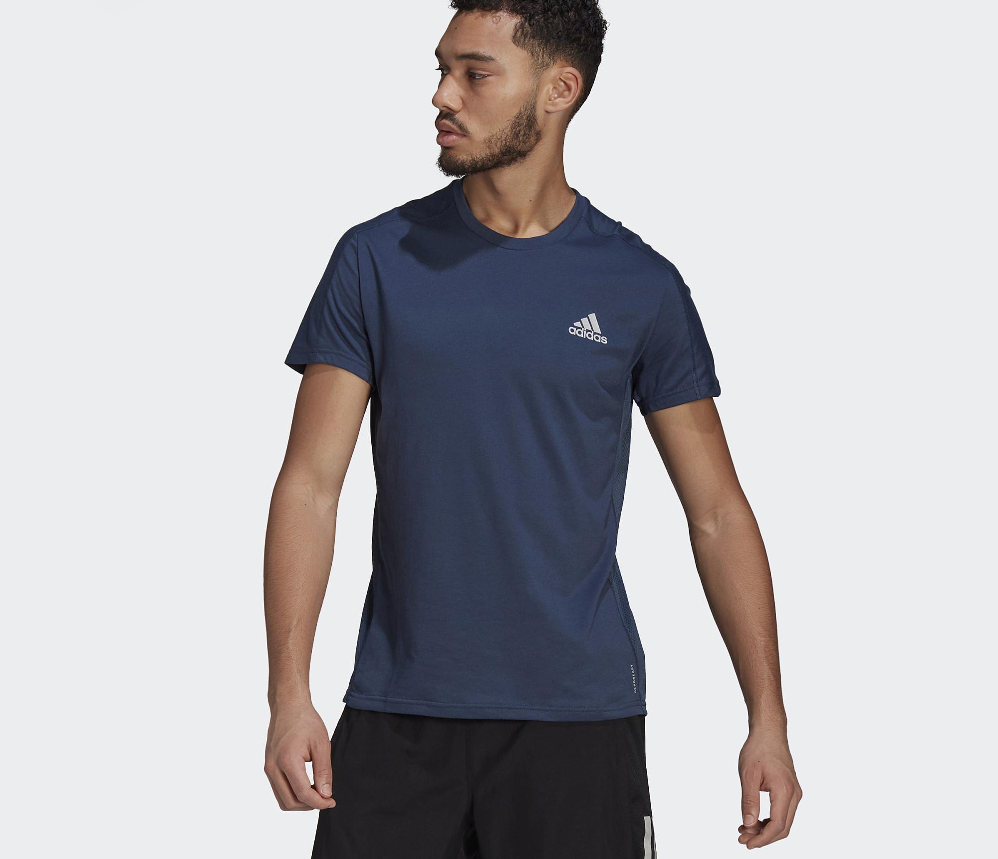 Áo Adidas Own The Run Soft Tee Blue GJ9936 màu xanh xám với logo phản quang may từ chất liệu nhẹ, mềm mại và thoáng khí, ứng dụng công nghệ Aeroready hút ẩm, phù hợp cho chạy bộ cũng như tập luyện thể thao. Sản phẩm có các size M, L, XL. Giá gốc 950.000 đồng, ngày 6/6 ưu đãi 48% còn 490.000 đồng.