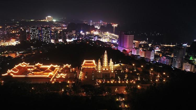 Quần thể văn hóa tâm linh Bảo Hải Linh Thông Tự có tổng diện tích khoảng 4.000m2