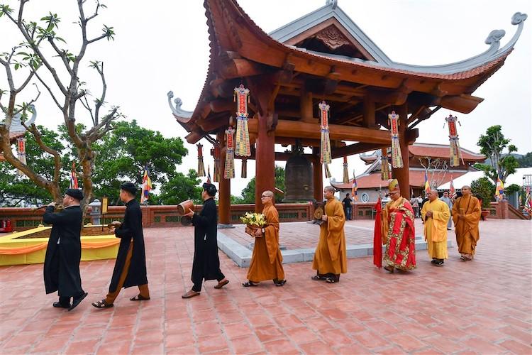 Dấu ấn kiến trúc những ngôi chùa Việt thế kỷ 17, 18 tại Bảo Hải Linh Thông Tự.