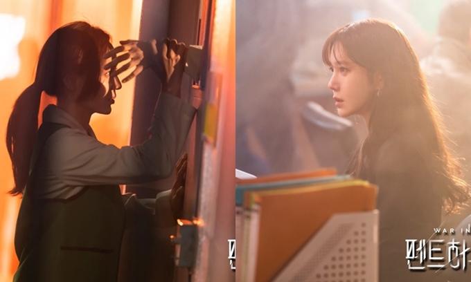 Eugene (trái) và Lee Ji Ah trong tập 1 mùa 3 Penthouse.
