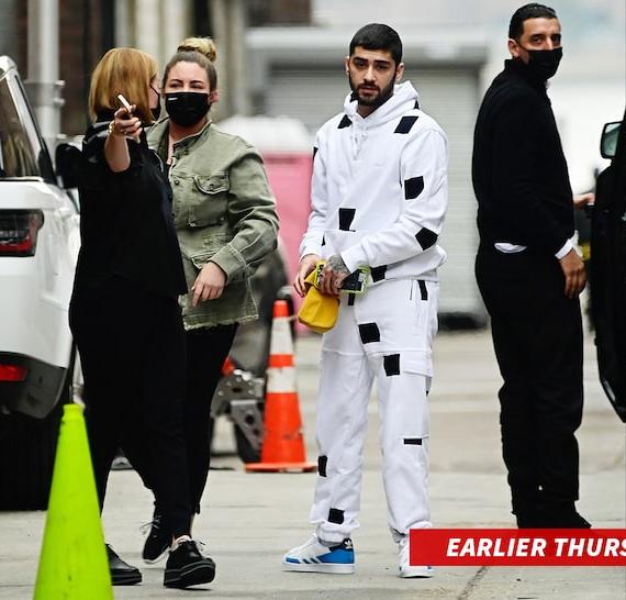 Zayn Malik vào sáng thứ năm.