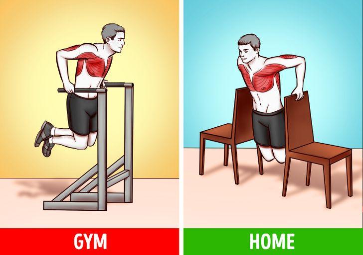 6 bài tập tại nhà hiệu quả như tập gym