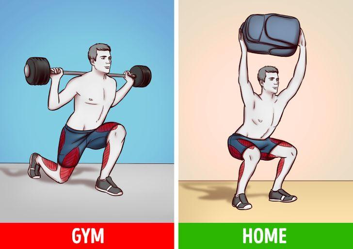 6 bài tập tại nhà hiệu quả như tập gym  - 1