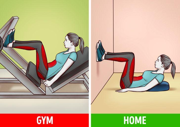 6 bài tập tại nhà hiệu quả như tập gym  - 2