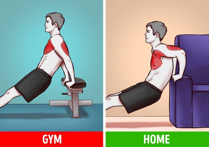 6 bài tập tại nhà hiệu quả như tập gym  - 3