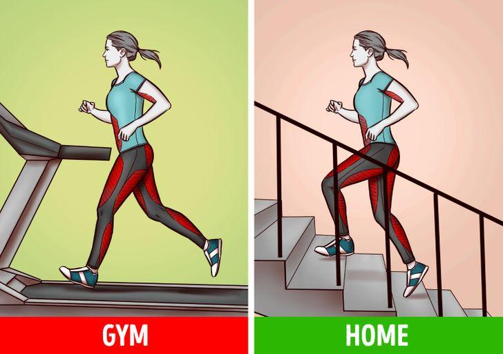 6 bài tập tại nhà hiệu quả như tập gym  - 4